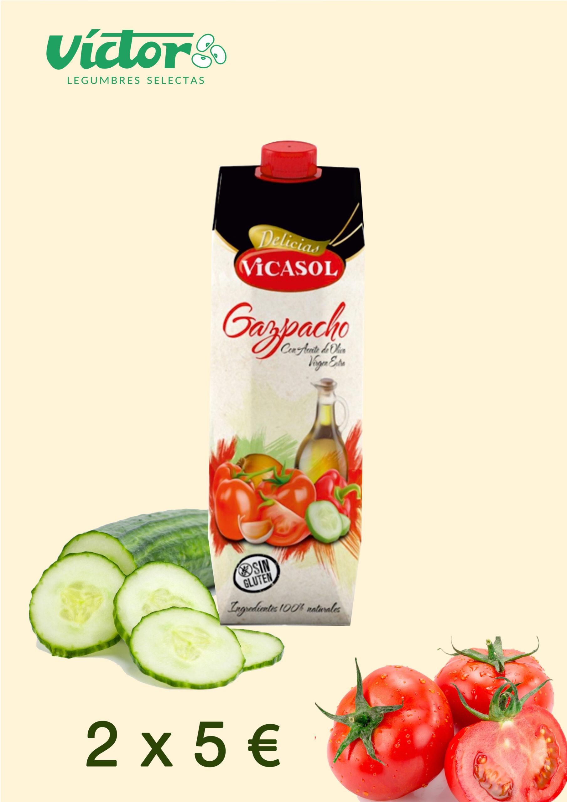 Nuevo Gazpacho 100% Natural